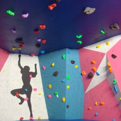 Highline Extreme fixed bouldering wall