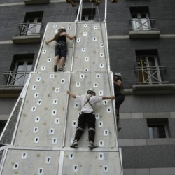 Mobile Ice Climbing Wall